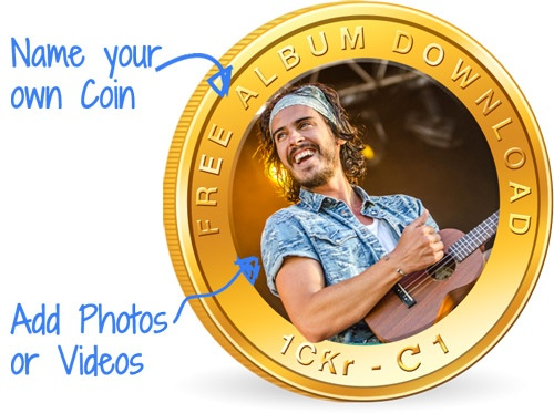 Customize your own Coins