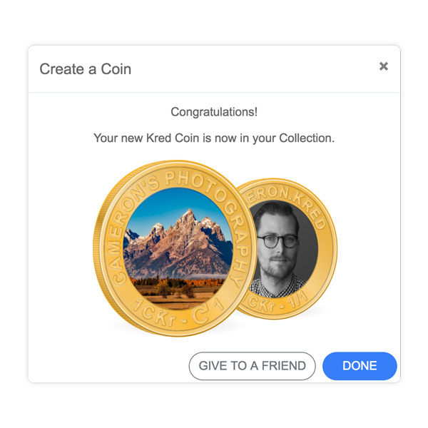 Follow the basic steps to create your Coin